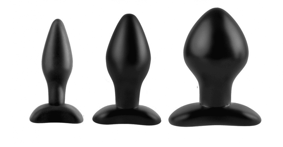 anal trainer set butt plugs