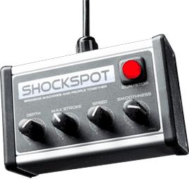 Best Sex Machine shockspot controller gay men couples sex toys