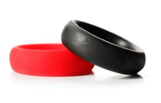 Gay men couples sex toys silicone cock ring