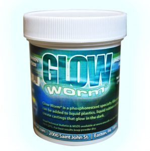 DIY dildo glow in the dark glow worm