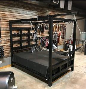 bondage bed sex furniture