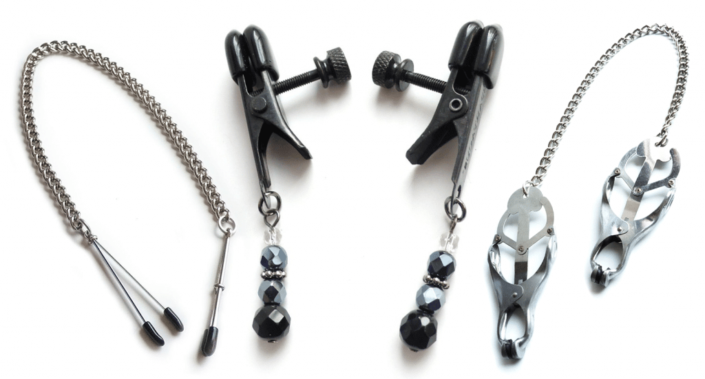 bondage & bdsm nipple clamps