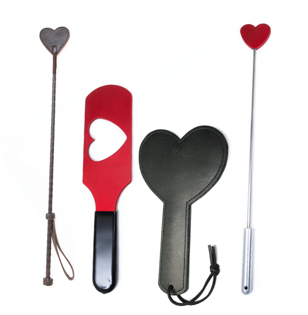Crops & Paddles spanking valentine's day gift ideas