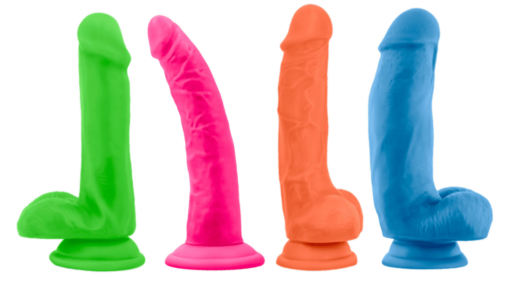 Blush neo elite cheap dual-density dildos