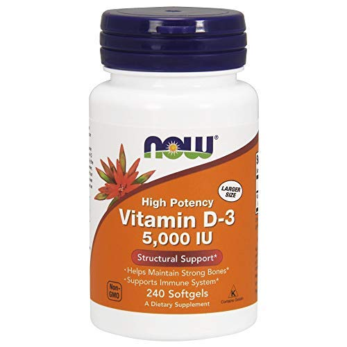Supplements Vitamin D-3 5000 IU FamilyValue 2Packs (240Softgels) RJC#Now