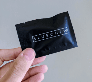 Bluechew Review: Packaging front